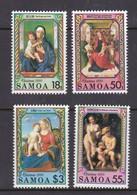 Samoa SG 852-855 1990 Christmas,mint Never Hinged - Samoa