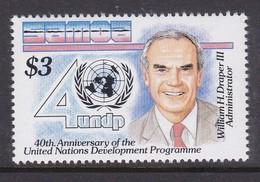 Samoa SG 856 1990 40th Anniversary Of UN,mint Never Hinged - Samoa