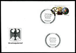 40431) BRD - Mi 2332 - FDC - 55C    100 Jahre Deutsches Museum - [7] Federal Republic