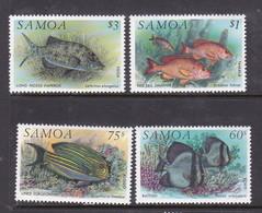 Samoa SG 890-893  1993 Fishes,mint Never Hinged - Samoa