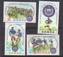 Samoa SG 894-897 1993 World Cup Seven Rugby - Samoa