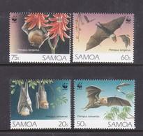 Samoa SG 898-901 1993 FlyingFoxes,mint Never Hinged - Samoa