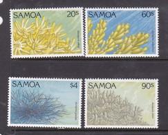 Samoa SG 912-915 1994 Coral,mint Never Hinged - Samoa