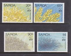 Samoa SG 916-919  1994 Corals Hong Kong 94,mint Never Hinged - Samoa