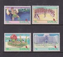 Samoa SG 925-928 1994 Teula Tourism Festival,mint Never Hinged - Samoa