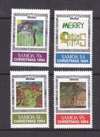 Samoa SG 933-936  1994 Christmas,mint Never Hinged - Samoa
