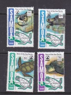 Samoa SG 966-969 1995 Year Of The Sea Turtle.mimt Never Hinged - Samoa