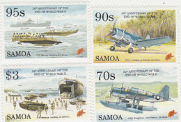 Samoa SG 971-974 1995 United Nations 50th Anniversary.mint Never Hinged - Samoa