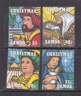 Samoa SG 975-978 1995 Christmas,mint Never Hinged - Samoa