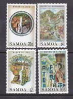 Samoa SG 979-982 1996 Water For Life,mint Never Hinged - Samoa