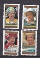 Samoa SG 983-986  1996 70th Birthday Of Queen Elizabeth II,mint Never Hinged - Samoa