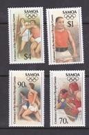 Samoa SG 990-993 1996 Centenary Of Olympic Games Atlanta MNH - Samoa