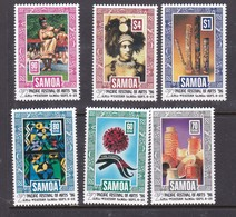 Samoa SG 994-999  1996 7th Pacific Festival Of Arts ,mint Never Hinged - Samoa