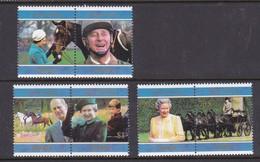 Samoa SG 1007-1012 1997 Royal Golden Wedding,mint Never Hinged - Samoa