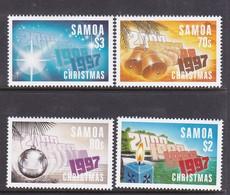 Samoa SG 1019-1022 1997 Christmas,mint Never Hinged - Samoa