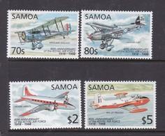 Samoa SG 1029-1032 1998 80th Anniversary Toyal Air Force,mint Never Hinged - Samoa