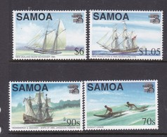 Samoa SG 1038-1041 1999 Australia 99 Maritime Heritage,mint Never Hinged - Samoa