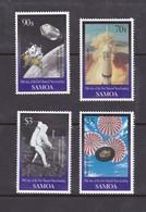 Samoa SG 1044-1047 1999 Moon Landing,mint Never Hinged - Samoa