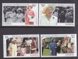 Samoa SG 1049-1052 1999 Queen Mother Century,mint Never Hinged - Samoa
