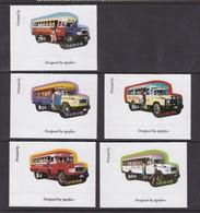 Samoa SG 1113-1117 2003 Buses,mint Never Hinged - Samoa