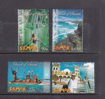 Samoa SG 1118-1119 2003 Marine Parks,mint Never Hinged - Samoa