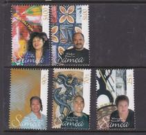 Samoa SG 1120-1124 2003 Art Of Samoa,mint Never Hinged - Samoa