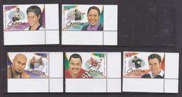 Samoa SG 1125-1129 2003 Sporting Legends,mint Never Hinged - Samoa