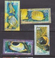 Samoa SG 1130-1133 2003 Angelfish ,mint Never Hinged - Samoa