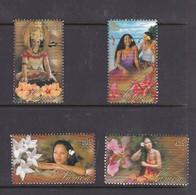 Samoa SG 1150-1153 2004 Samoan Beauties,mint Never Hinged - Samoa