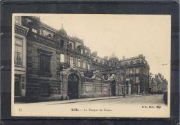 5918. LILLE .  LA BANQUE DE FRANCE   . RECTO/VERSO .   DOS . SIMPLE - Lille