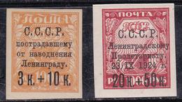 Russie 1924 N° Y&T : 282 Et 286 * - 1923-1991 URSS