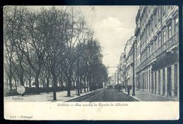 Cpa Du Portugal Lisboa Rua Oriental , Da Avenida Da Liberdade   MARS18-16 - Lisboa