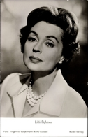 Cp Schauspielerin Lilli Palmer, Portrait, Frau Cheney's Ende - Acteurs