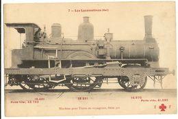 Les Locomotives  Machine Pour Trains De Voyageurs Serie 500  18 - Equipment