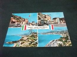 DOGANA VALICO NUOVO PONTE S. LUDOVICO GRIMALDI CONFINE ITALO-FRANCESE  VEDUTE AUTO CAR - Dogana