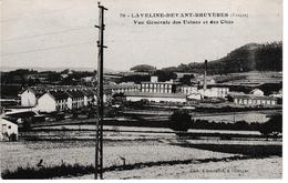 Laveline-devant-Bruyères - Vue Générale Des Usines Et Cités - Bruyeres