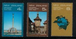 Nouvelle Zélande // New Zealand // 1974 // Centenaire De Napier Série ** Y&T 608-610 - Nouvelle-Zélande