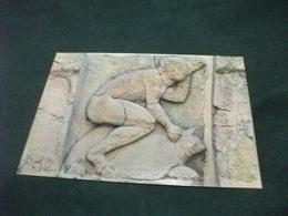 PAESTUM METEPE DALL'HERAION ALLA FOCE DEL SELE EROE SULLA TARTARUGA - Sculpturen