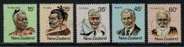 Nouvelle Zélande // New Zealand // 1980 // Personnalité Mooris Série **/o Y&T 781-785 - Nouvelle-Zélande