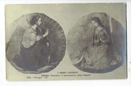 45589( 2 Scans ) L'umbria Illustrata Perugia Pinacoteca - L' Annunziazione, Beato Angelico - Santi