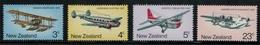Nouvelle Zélande // New Zealand // 1974 // Transport Aérien Postaux Série ** Y&T 611-614 - Nouvelle-Zélande