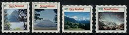 Nouvelle Zélande // New Zealand // 1973 // Montagnes Série ** Y&T 599-602 - Nouvelle-Zélande