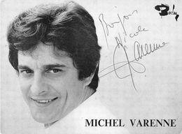 MICHEL VARENNE -DEDICACE- - Autógrafos