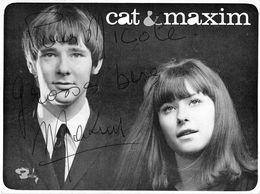 CAT ET MAXIM LEFORESTIER -DEDICACE- - Autographes