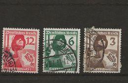 Timbres De 1937 - Allemagne