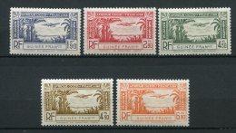 6431  -  Guinée    PA1/5*    Légende : Guinée Française      1940     TTB - Unused Stamps