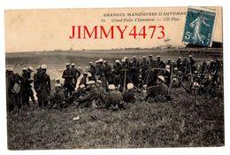 CPA - Grand'Halte D'Infanterie En 1909 - GRANDES MANOEUVRES D'AUTOMNE - ND Phot. N° 80 - Manoeuvres