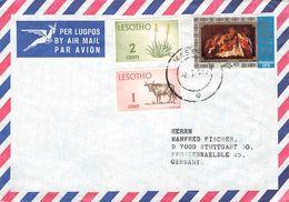 LESOTHO - AIR MAIL LETTER 1967 -> STUTTGART/GERMANY - Lesotho (1966-...)