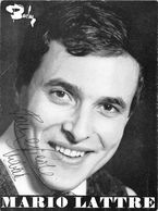 MARIO LATTRE -DEDICACE- - Autographes
