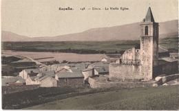 ES LLIVIA - Brun 248 - Colorisée - La Vieille église - Belle - Autres Communes